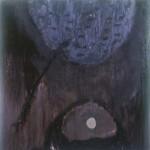 1989 - Fondo para lo perforado, 193 x 193 cm.