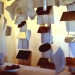 1997 - Las miradas pendientes. Instalación II