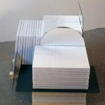 1998 - Las miradas del melancólico. 65 x 55 x 75 cm