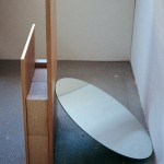 1999 - El espacio de la mirada. 75 x 75 x 101,5 cm