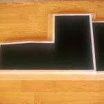 2002 - El lugar de la espera. 232 x 60 x 23,5 cm (Detalle)