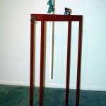 2005 - Los enseres del abanderado. 195 x 26,5 x 76,5 cm