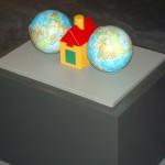 2006 - Acompañados (Serie Proyecto para una geografía sentimental) 50 x 37 x 20 cm